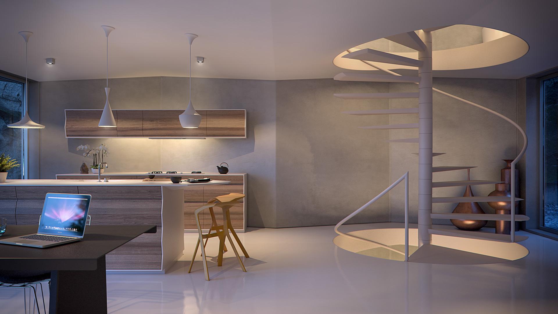 interiør design Origami Huset – Interiør Design « Bpositive 3D interiør design