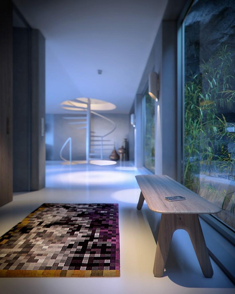 Bpositive - Origami House Interior (Hall - P1)