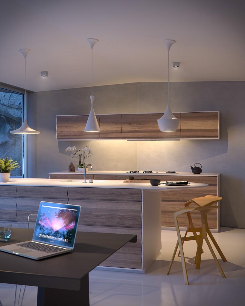 Bpositive - Origami House Interior (Kitchen - P4)